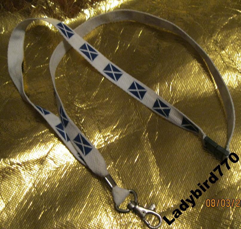 Новый шнурок веревка  карабин для мобилки веревка син белый