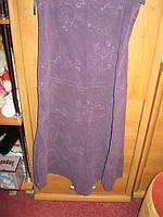 Юбка вильвет12 46 М фиолетовая Marks spencer