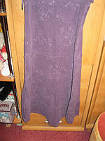 Юбка вильветОВАЯ 12 46 М фиолетовая Marks spencer , фото 1