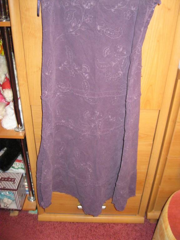 Юбка вильветОВАЯ 12 46 М фиолетовая Marks spencer