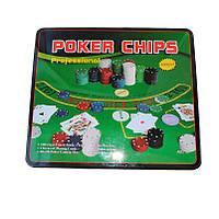 Покерный набор на 500 фишек номинал