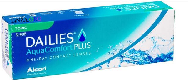 Контактные линзы Focus Dailies Aqua Comfort Plus Toric