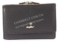 Стильный женский компактный кожаный кошелек CAFFIER art. CF-1393 A черный, фото 1