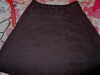 Юбка E-vi шик черная  вышивка 48 14 M как новая!!!, фото 1