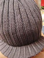 Кепка шапка женская фуражка темно зеленая болотная
