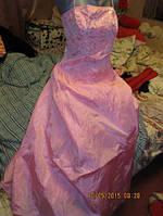 Платье выходное новое розовое XS 40 6 США MORGAN