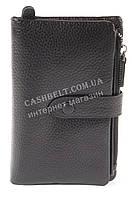 Удобный  кожаный женский кошелек с качественной мягкой кожи  art. 3037 черный