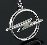 Брелок логотип Opel, хром