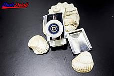 Ролик для душевой кабины хромированный, одинарный, Верхний ( М01В ) , фото 2