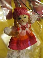 Брелок на ключи или сумочку игрушка куколка мал кукла девочкасувенир , фото 1