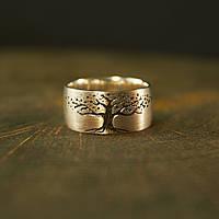 Кольцо с деревом