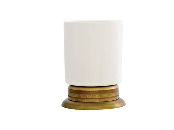 Стакан для зубных щеток KUGU Versace Freestand 250A, фото 2