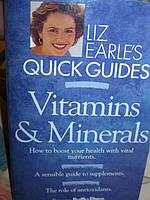 Книга на английском языке Liz Earle's Vitamins and Minerals VITAMINS & MINERALS