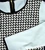 Туніка кофта светр біла з сірим XS 8 йде на наш 42-44р пр-во ІТАЛІЯ, фото 4