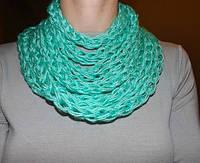 Женский шарф хомут колье