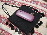 Сумка сумочка косметичка паетки черная как чехол