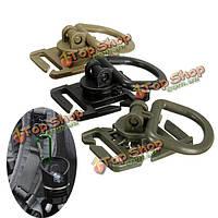 Молле тактический 360 градусов вращения кольца D пряжка для жилета рюкзак