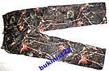 Штани Зимові Камуфляж Ліс утепленые на Флісі 48,50,52 на зріст 170 -190, фото 3