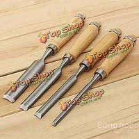 4шт деревообрабатывающее резьба рука долото древесины долото прочнее набор
