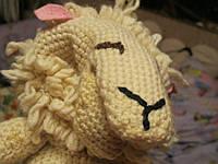 Игрушка Кукольный театр на руку  овца овечка кукла, фото 1