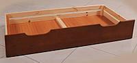 Выдвижные бельевые ящики для кровати из массива ольхи (Темп)