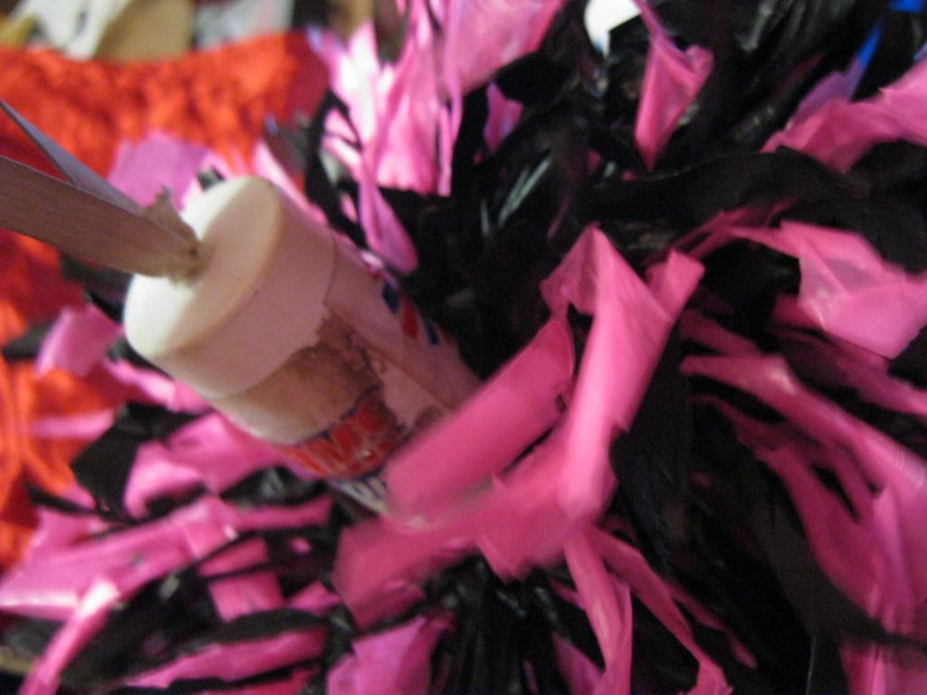Помпон ленты из США танцы,болельщику сувенир Черлидер махалка