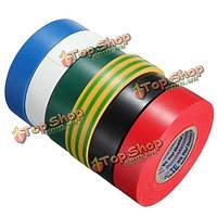 19мм х 20м ПВХ электрической изоляции ленты кабель для упаковки клейкой лентой