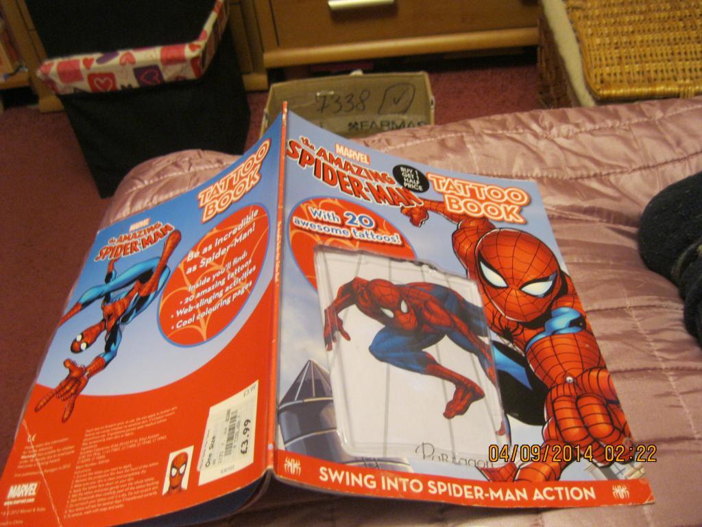 Паук книга английский язык детская спайдермен Spider-Man