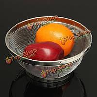 Тонкой сетки из нержавеющей стали сито сито дуршлаг для фруктов овощей