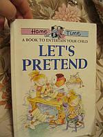 Книга.на английском языке LETS PRETEND развивающая