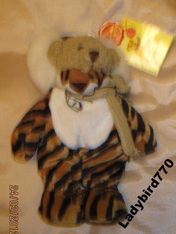 НОВЫЙ медведь тигр ИГРУШКА Simply Soft Collection