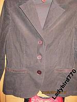 Пиджак  женский легкий вильвет 48 14 M