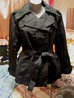 Плащ куртка ветровка женская черный 16 50 L ОТЛИЧНЫЙ DEBENHAMS