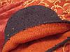 Шапка двухсторонняя шапочка детская полосатая, фото 3