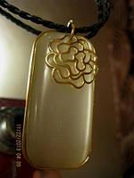Нарядное колье подвеска украшение ожерелье бусы