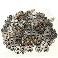 100шт металл пустые шпульки для Brother вышивальной машины Janome швейная машина Singer