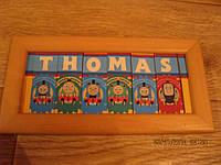 Картина детская игра паровозик THOMAS поезд томас
