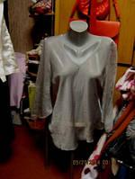 Блуза блузка туника легкая 48 14 M