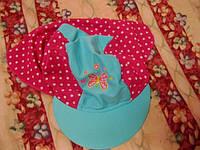 КЕПКА шапочка летняя 5-6лет на девочку под солнце