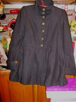 Пальто женское фирменное стильное черное демисезонное отличное качество XL 52 18