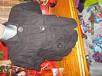 Пиджак жакет женский лен черный 48 14 M куртка DOROTHY PERKINS