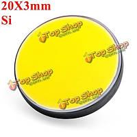 20X3мм Si кремний отражение зеркала для СО2-лазера резец гравера