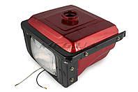 """Бак топливный для мотоблока с двигателем   195N   (12Hp)   """"DIGGER""""   (mod:B, с фарой)"""