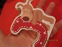 Сувенир BOOFLE декор картины фигурки сувенир пес собака буквы набор=2шт детский игрушка