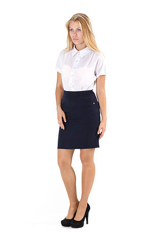 Платье офисное №1516
