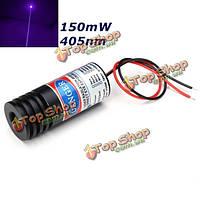 150 МВт 405 нм фиолетовый лазерный модуль точка фокусируемый лазерный диод генератора