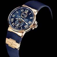 Ulysse Nardin Marine Chronometer - элитные мужские часы (копия)