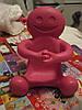 Подставка фигурка статуэтка декор игрушка сувенир для мобильного человечек розовый  США ТЯЖЕЛАЯ человечек, фото 2
