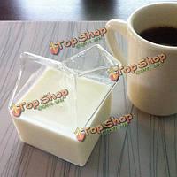Молока стакан хрустальной посуды 71*71*110 мм