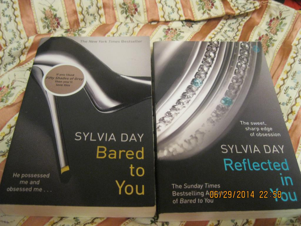 Книга английский на английском 2кн=лот  SYLVIA DAY